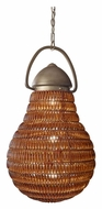 Feiss F2793/3BUS Wattson Transitional 15 Inch Diameter Hanging Lamp - Burnished Silver