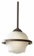 Feiss P1266ORB Urban Renewal 7 Inch Diameter Oil Rubbed Bronze Mini Drop Lighting