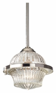Feiss P1266PN Urban Renewal Transitional Polished Nickel Mini Pendant Lamp