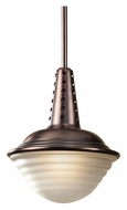 Feiss P1270PCBZ Urban Renewal Plated Copper Bronze 8 Inch Diameter Hanging Light