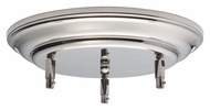 Feiss CK-RD-12.5-PN 12 Inch Diameter Polished Nickel Canopy Kit
