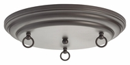 Feiss CK-RD-15-ORB 15 Inch Diameter Oil Rubbed Bronze Canopy Kit
