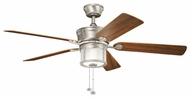 Kichler 310105NI Deckard 52-inch Brushed Nickel Overhead Fan