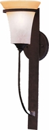 Kichler 9335-DBK Meredith Distressed Black 24 inch Colonial Outdoor Sconce Exterionce