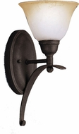 Kichler 5941-DBK Pomeroy Distressed Black Country Wall Sconce