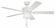 Kichler 310105WH Deckard 52  Indoor Fan Fixture in White