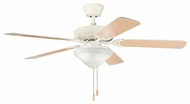 Kichler 339220ADC Sterling Manor Select 52  Chandelier Ceiling Fan in Adobe Cream