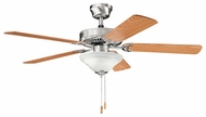 Kichler 339220BSS Sterling Manor Select 52  Brushed Stainless Steel Home Ceiling Fan