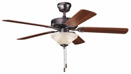 Kichler 339220OBB Sterling Manor Select 52  Transitional Ceiling Fan in Oil Brushed Bronze