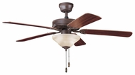Kichler 339220TZ Sterling Manor Select 52  Indoor Fan in Tannery Bronze