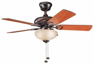 Kichler 337014OBB Sutter Place Select 42  Ceiling Fan Light Fixture in Oil Brushed Bronze