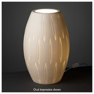 Justice Design POR8872 Egg Porcelain Table Lamp