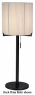 Sonneman 3349 Boxus Round Contemporary Table Lamp