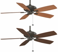 Fanimation Fans TF610OB Edgewood 52  Decorative Ceiling Fan in Oil-Rubbed Bronze