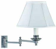House of Troy LL660SN LL660 Decorative Swing Arm Wall Lamp in Satin Nickel