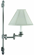 House of Troy LL662ASN LL662A Decorative Swing Arm Wall Lamp in Satin Nickel