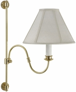 House of Troy LL663PB LL663 Decorative Swing Arm Wall Lamp in Polished Brass