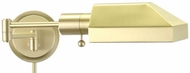 House of Troy WS1251J WS12-J Task Swing Arm Wall Lamp in Satin Brass