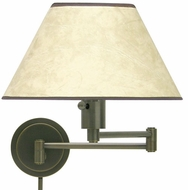 House of Troy WS1491 WS14 Decorative Swing Arm Wall Lamp in Oil Rubbed Bronze