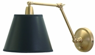House of Troy PL20WB Lincoln Collection Weathered Brass Swing Arm Wall Lamp