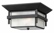 Hinkley 2573SK Harbor Exterior Craftsman Flush Mount Ceiling Lighting