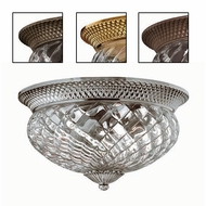 Hinkley 4881 Plantation Tropical Outdoor Three-Light Ceiling Fixture