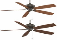 Fanimation Fans TF721OB Edgewood 72  Supreme Ceiling Fan in Oil-Rubbed Bronze