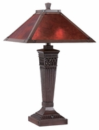 Lite Source LSC41212 Branson Bronze Table Lamp with Mica Shade