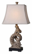 Uttermost 27409 Nagano 30 Inch Tall Rustic Beige Asian Table Lamp
