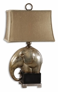 Uttermost 26739-1 Abayomi Antique Champagne Elephant 31 Inch Tall Table Light