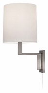 Sonneman 6440.13 Thick Thin Contemporary 16 Inch Tall Mini Wall Lamp - Satin Nickel