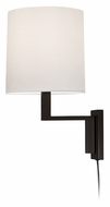 Sonneman 6440.27 Thick Thin Coffe Bronze Modern 16 Inch Tall Miniature Wall Lamp