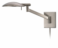 Sonneman 7085.13 Perch Pharmacy Swing Arm Satin Nickel Modern Wall Lamp