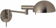 Sonneman 3042 Dome PinUp Contemporary Single SwingArm Wall Lamp