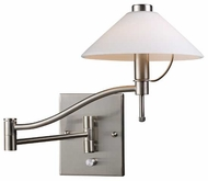 ELK 10112/1 Wavy Contemporary Swing Arm Lamp