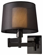 ELK 10110/1 Dual Shade Contemporary Swing Arm Lamp