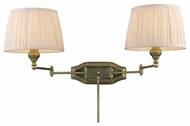 ELK 112142 Pleatings Dual Swing Arm Lamp