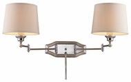 ELK 112112 Westbrook Dual Swing Arm Lamp in Polished Chrome