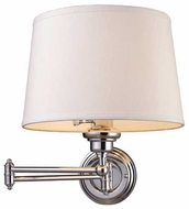 ELK 112101 Westbrook Swing Arm Lamp in Polished Chrome
