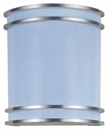 Maxim 85530WTSN Linear EE Small Satin Nickel 1 Lamp 10 Inch Tall Lighting Sconce - Fluorescent