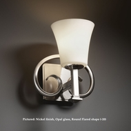 Justice Design FSN-8581 Heritage Transitional Fusion Glass Wall Sconce Light With Finish Options
