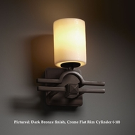 Justice Design CNDL-8501 Argyle Candlearia 10 Inch Tall Transitional Wall Lighting With Finish Options