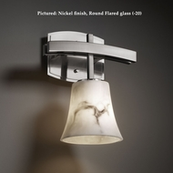 Justice Design FAL-8591 Archway 11 Inch Tall Lumenaria Glass Transitional Wall Lighting Sconce