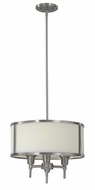 Feiss FES1302-3-BS Exposition Three-Lamp Pendant Light