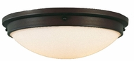 Feiss FM229-ORB Boulevard Collection 16 inch Flushmount Ceiling Fixture
