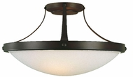 Feiss SF187-ORB Boulevard Collection 2 Light Semi Flush Ceiling Fixture