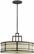 Feiss F2081-3-GBZ Fusion 3-light 12.5 inch Grecian Bronze Hanging Light