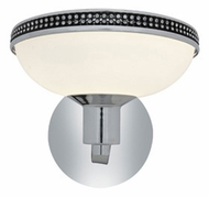 Access 23871-CH Onyx�Transitional 7 Inch Tall Chrome Light Sconce