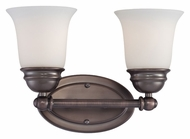 Thomas SL714215 Bella Transitional 2 Lamp 13 Inch Wide Wall Lighting Sconce - Oiled Bronze