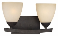 Thomas 190025722 Charles Sable Bronze Finish 2 Lamp 15 Inch Wide Light Sconce